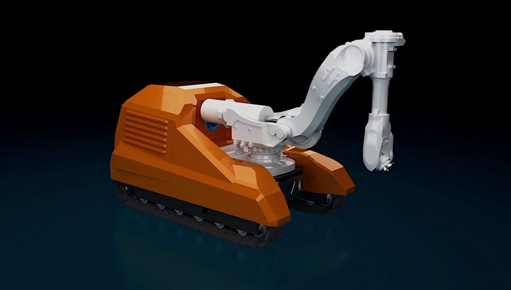 Robotic Roadworks and Excavation System.