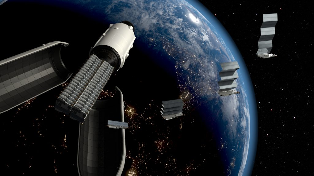 SpaceX Starlink Proof of Concept.